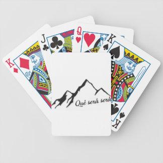 Que Sera Sera Bicycle Playing Cards