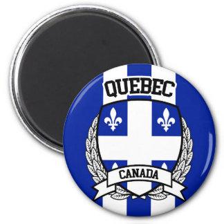 Quebec 6 Cm Round Magnet