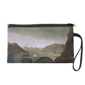 Quebec and the St. Lawrence River, plate 4 from 'L Wristlet Clutch