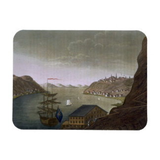 Quebec and the St. Lawrence River, plate 4 from 'L Magnet