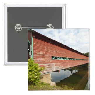 Quebec Canada Galipeault covered bridge in Button