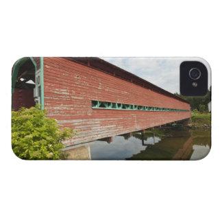 Quebec, Canada. Galipeault covered bridge in iPhone 4 Cases
