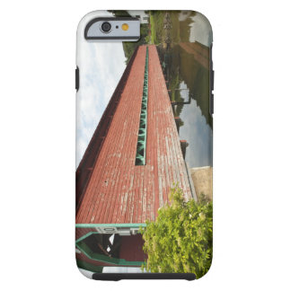 Quebec, Canada. Galipeault covered bridge in Tough iPhone 6 Case