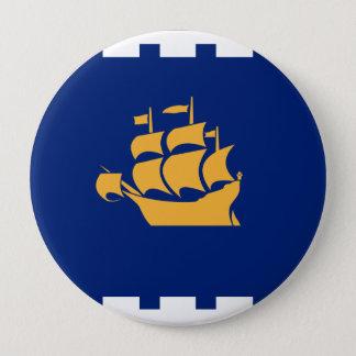 Quebec City, Canada 10 Cm Round Badge