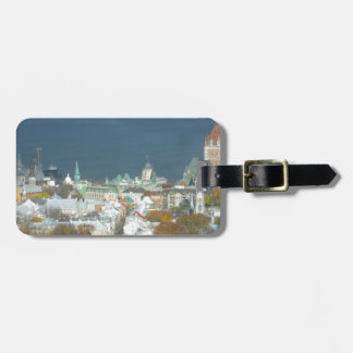 Quebec City Canada Waterfront Luggage Tag