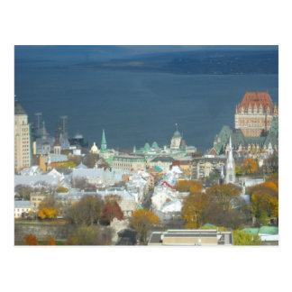 Quebec City Canada Waterfront Post Cards
