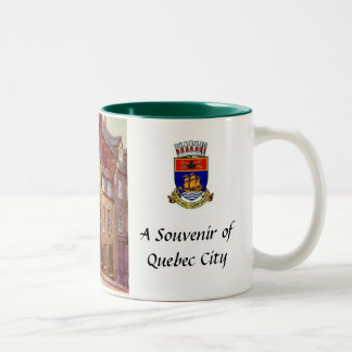 Quebec City Souvenir Mug