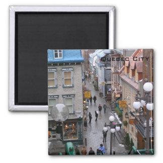 Quebec City Square Magnet