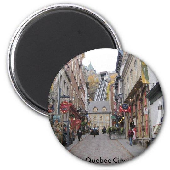 Quebec City Street Magnet