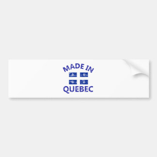Quebec Coat of arms Bumper Sticker