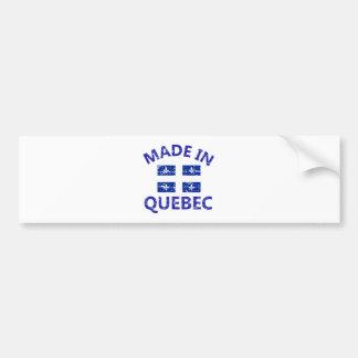 Quebec Coat of arms Bumper Sticker