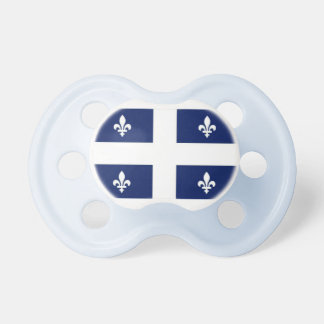 Quebec Flag Baby Pacifier