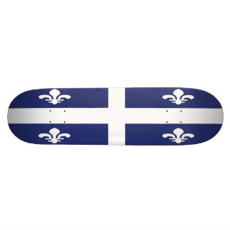 Quebec Flag Skateboard