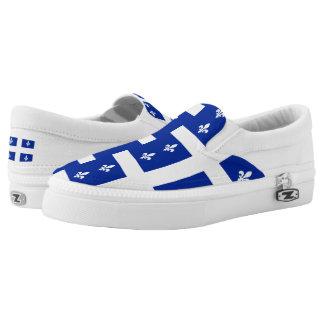 Quebec Flag Slip On Shoes
