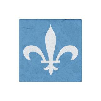 QUEBEC Flag Stone Magnet