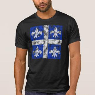 Quebec Fleur-de-lis Men's Dark Shirt