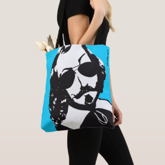 Quebec Hipster Samuel Champlain 1608 COLOR CHOICES Tote Bag