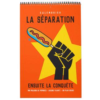 Quebec humour socialist anticommunist satire 2 calendar