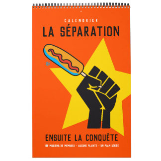 Quebec humour socialist anticommunist satire 2 calendars