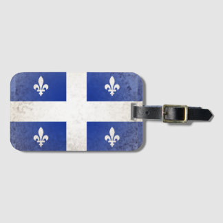 Quebec Luggage Tag