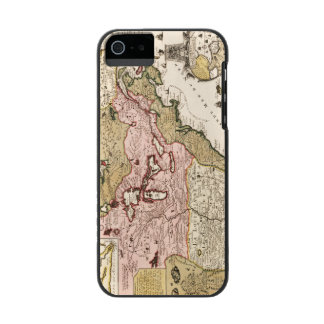 Quebec/Nouvelle-France medieval french map America Incipio Watson™ iPhone 5 Wallet Case
