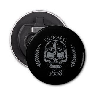 Quebec patriot 1608 grunge metal Referendum YES Bottle Opener