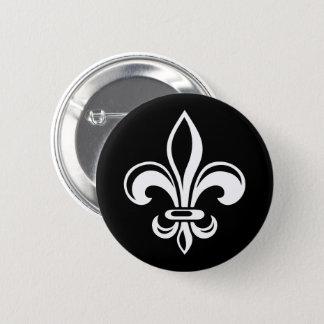 Québec patriote fleur de lys français VOS COULEURS 6 Cm Round Badge