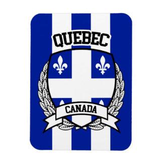 Quebec Rectangular Photo Magnet
