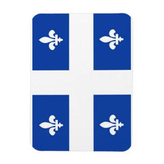 quebec region canada country flag rectangular photo magnet