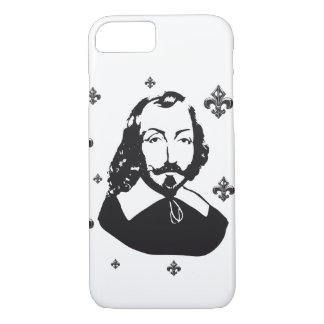 Quebec Samuel de Champlain 1608 Fleur of lily iPhone 8/7 Case