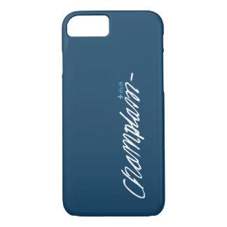 Quebec Samuel de Champlain 1608 French Signature iPhone 8/7 Case