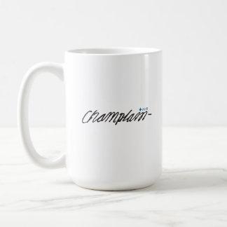 Québec Samuel de Champlain 1608 Signature Français Coffee Mug