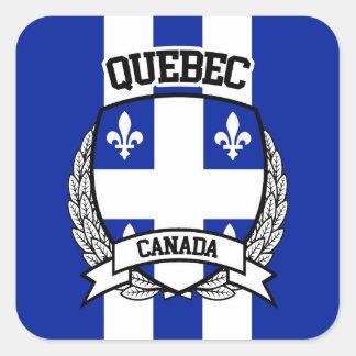 Quebec Square Sticker