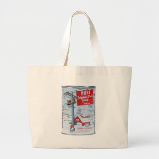 Quebec Telephone Pole Syrup Tote Bag