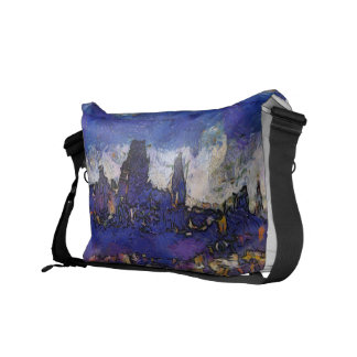 Quebec Van Gogh way Messenger Bags