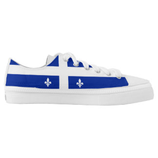 Quebecker Flag Low Tops