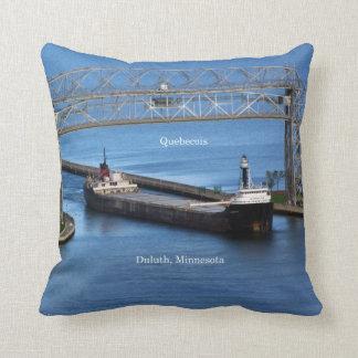 Quebecois square pillow