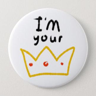 Queen 10 Cm Round Badge