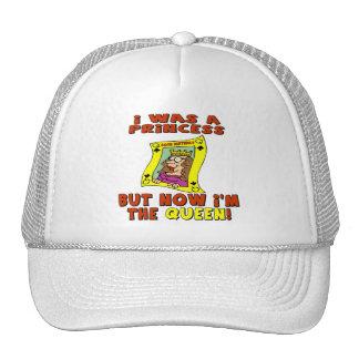 Queen 50th Birthday Gifts Trucker Hat