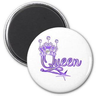 Queen 6 Cm Round Magnet