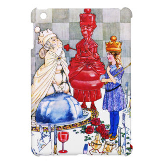 Queen Alice the Red Queen and The White Queen Cover For The iPad Mini