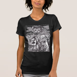 Queen and Cheshire Cat T-shirts