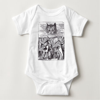 Queen and Cheshire Cat T Shirts