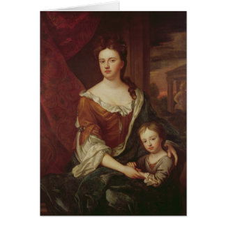 Queen Anne and William, Duke of Gloucester Card