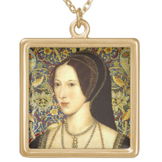Queen Anne Boleyn Portait Necklace
