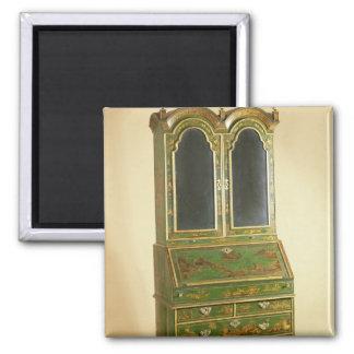 Queen Anne bureau cabinet with ball feet, c.1710 Refrigerator Magnet