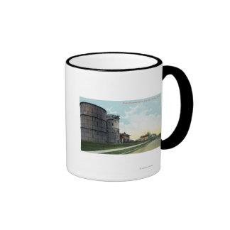 Queen Anne Hill Water Reservoirs Scene Mug