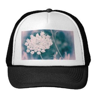 Queen Anne Lace Flower Trucker Hat