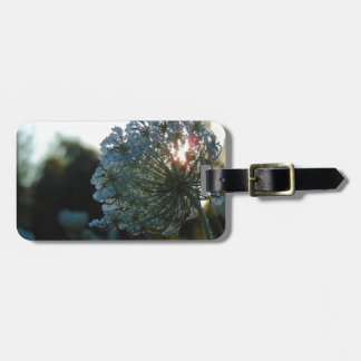 Queen Anne's Lace at Sunset Luggage Tag