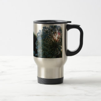 Queen Anne's Lace at Sunset Travel Mug